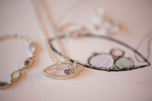Roseanna Croft Jewellery In The Spring Amethyst Set and Design