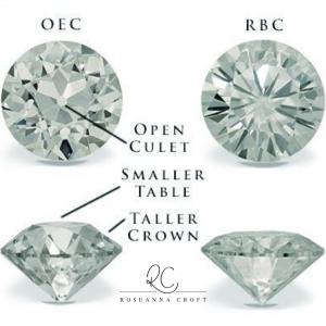 old cut diamonds