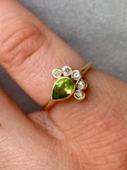 Bespoke Emerald Ring