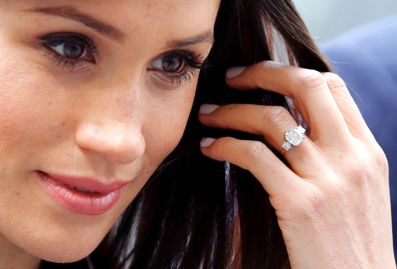 Meghan Markle's Wedding Ring by Roseanna Croft Jewellery