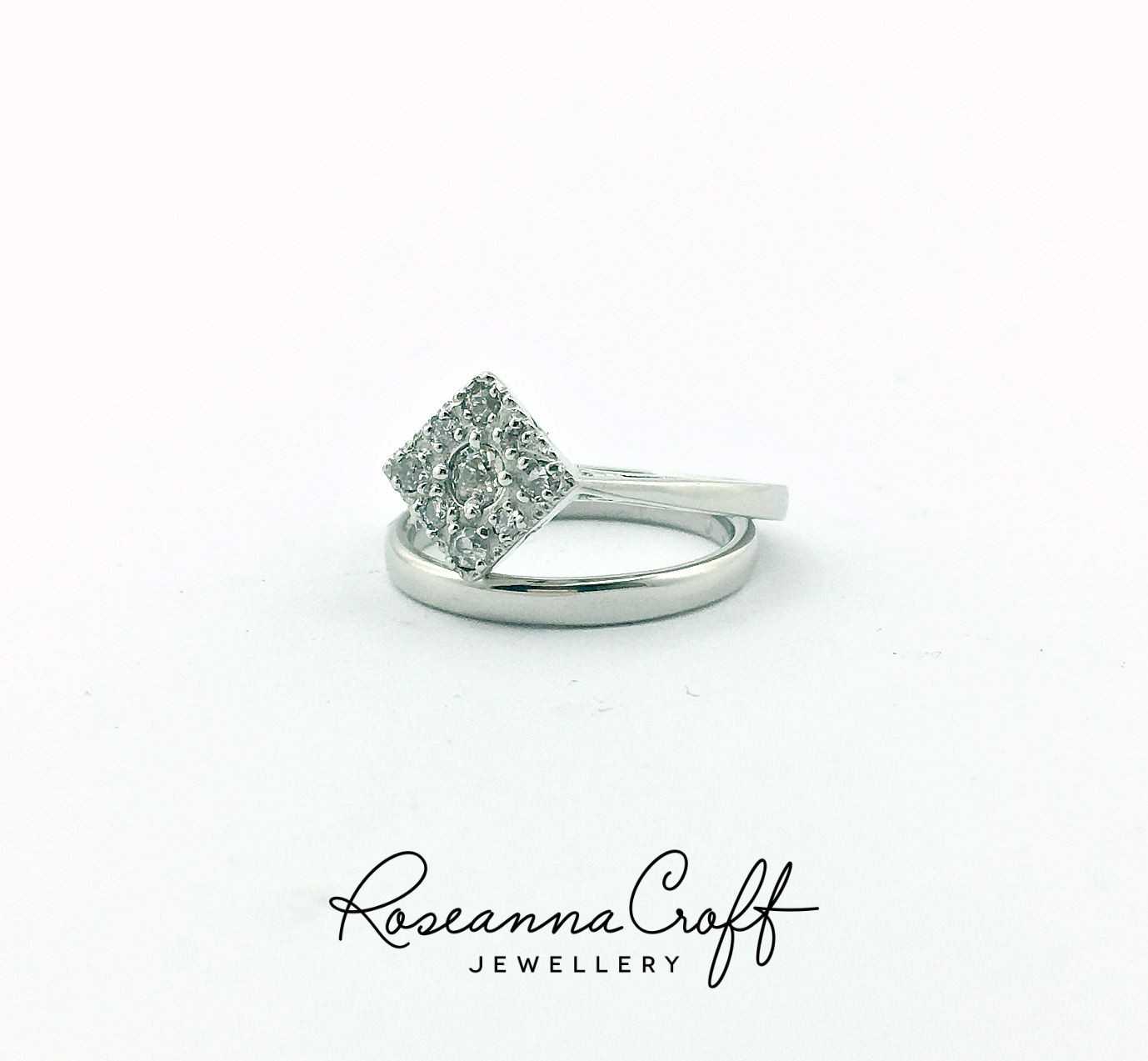 Art Deco Engagement Ring Redesign by Roseanna Croft Jewellery
