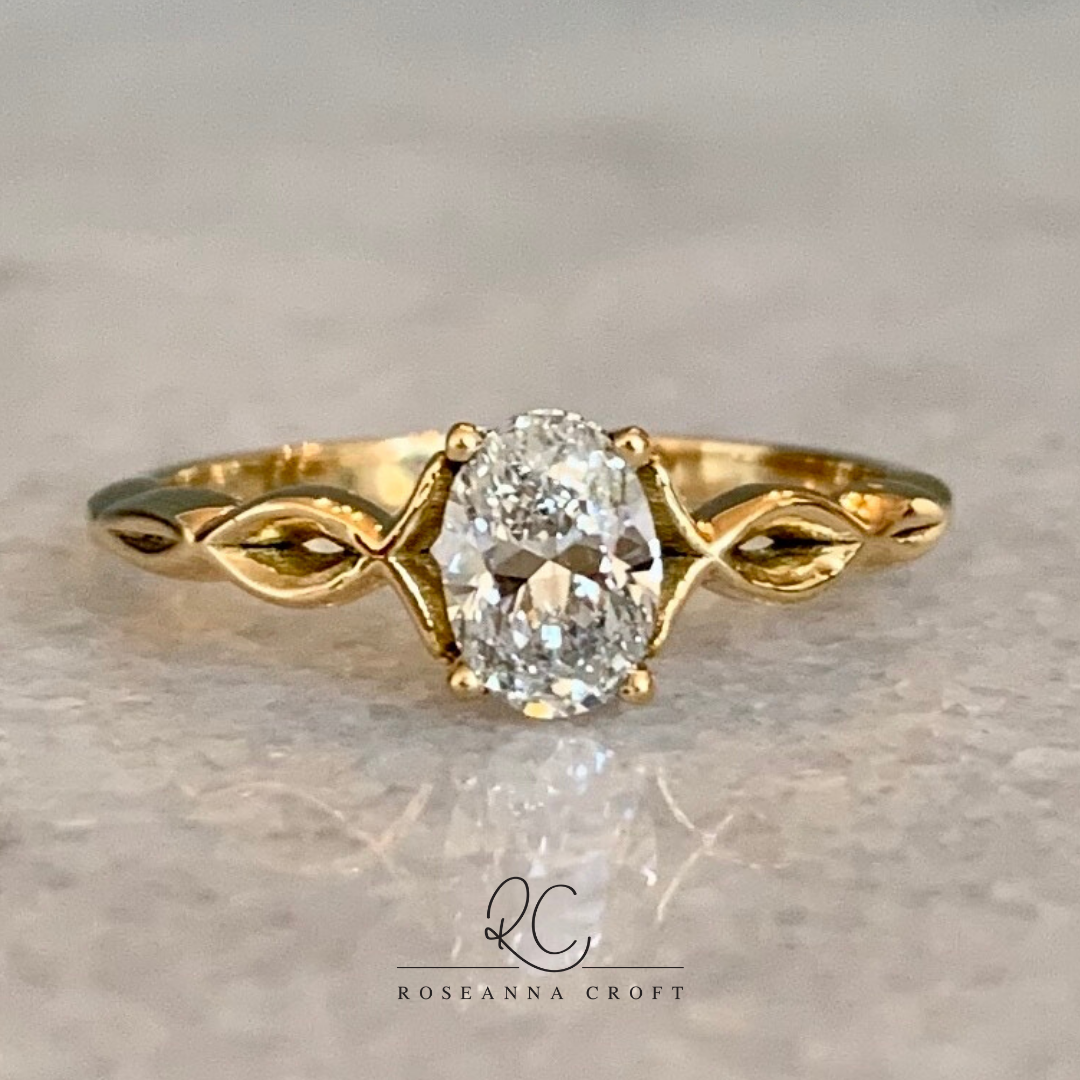One of a Kind Diamond Ring
