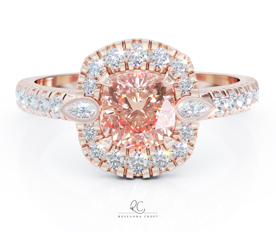 Cushion Cut Engagement Rings – Diamonds and Gemstones
