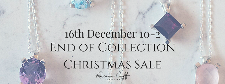 End of Collection Christmas Sale by Roseanna Croft Jewellery