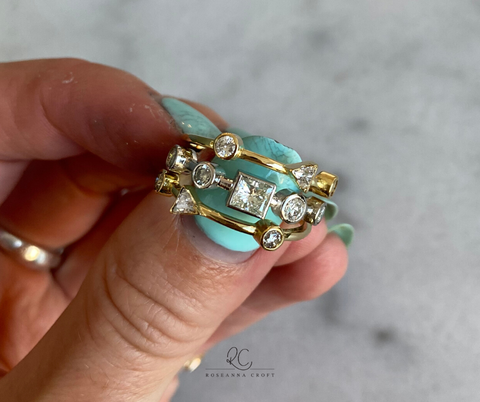 Redesign Your Engagement and Eternity Ring