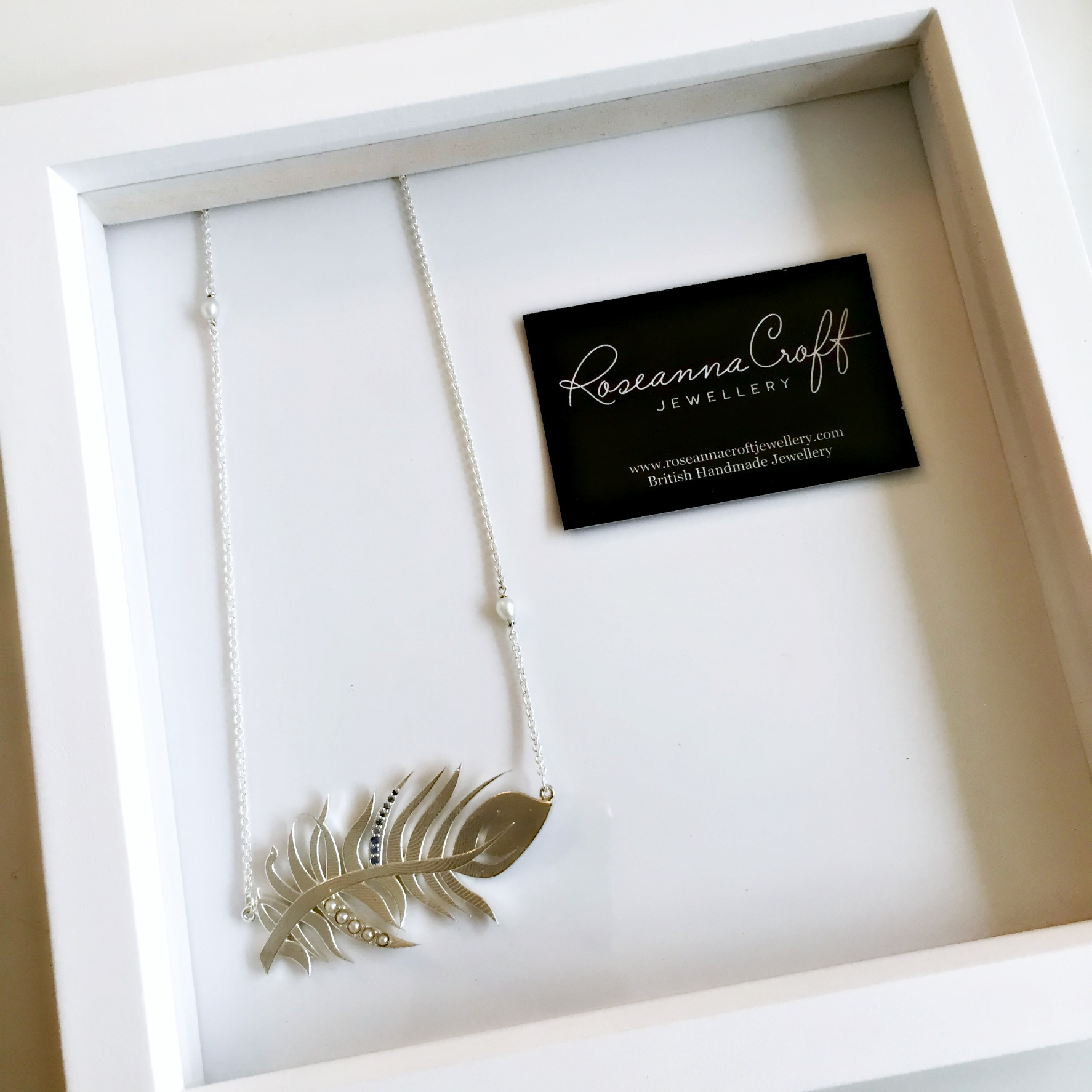 'The Feather' New Collection by Roseanna Croft Jewellery