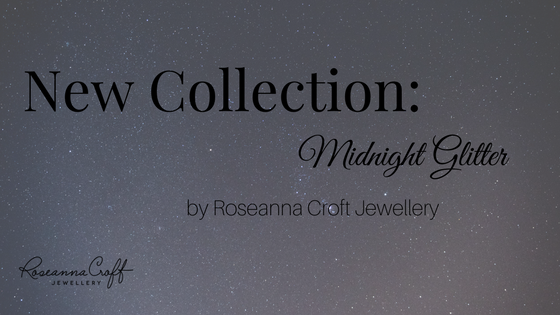 Midnight Glitter, A Story of Black Diamonds and Sterling Silver by Roseanna Croft Jewellery