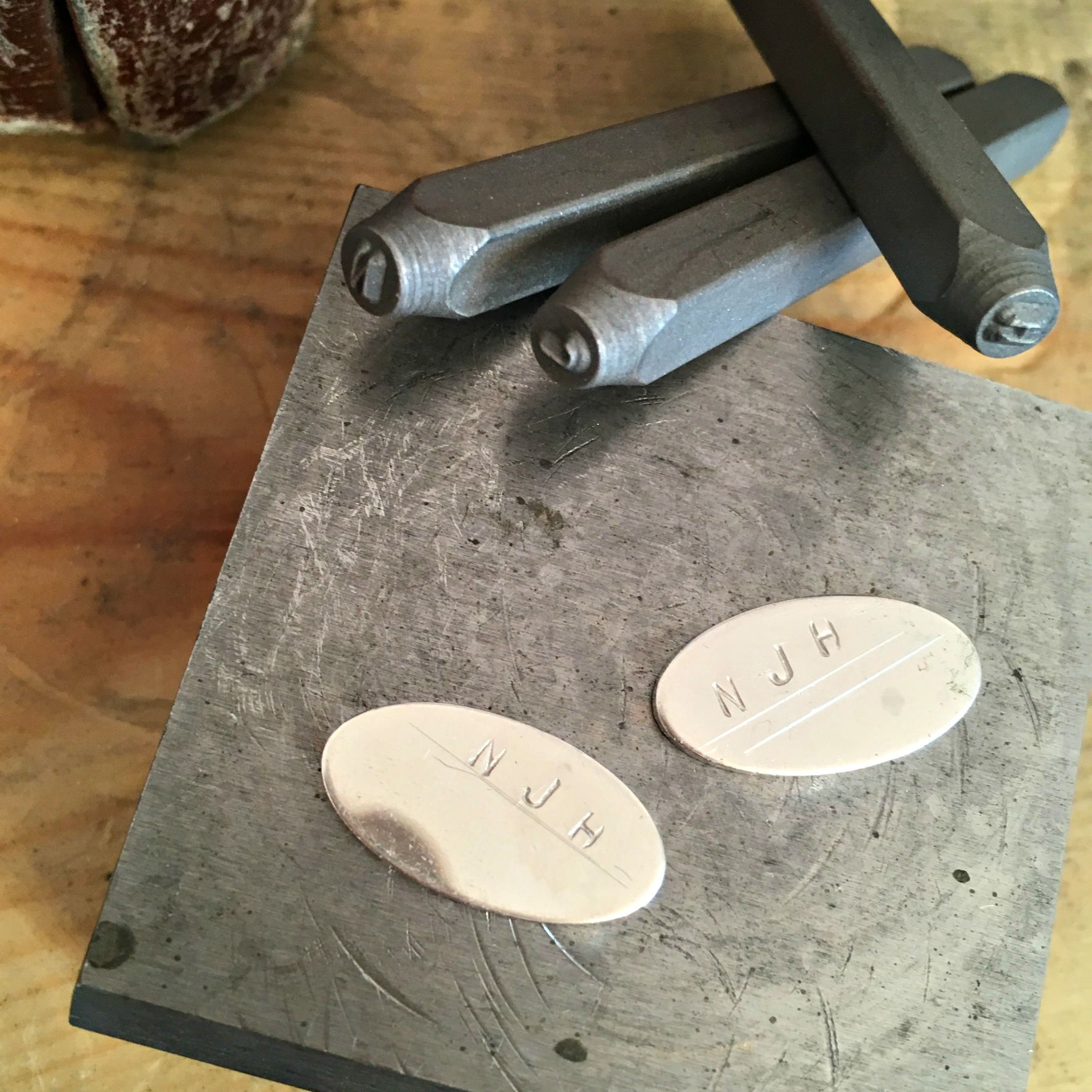 Workshop Wednesday: Personalised Cufflinks
