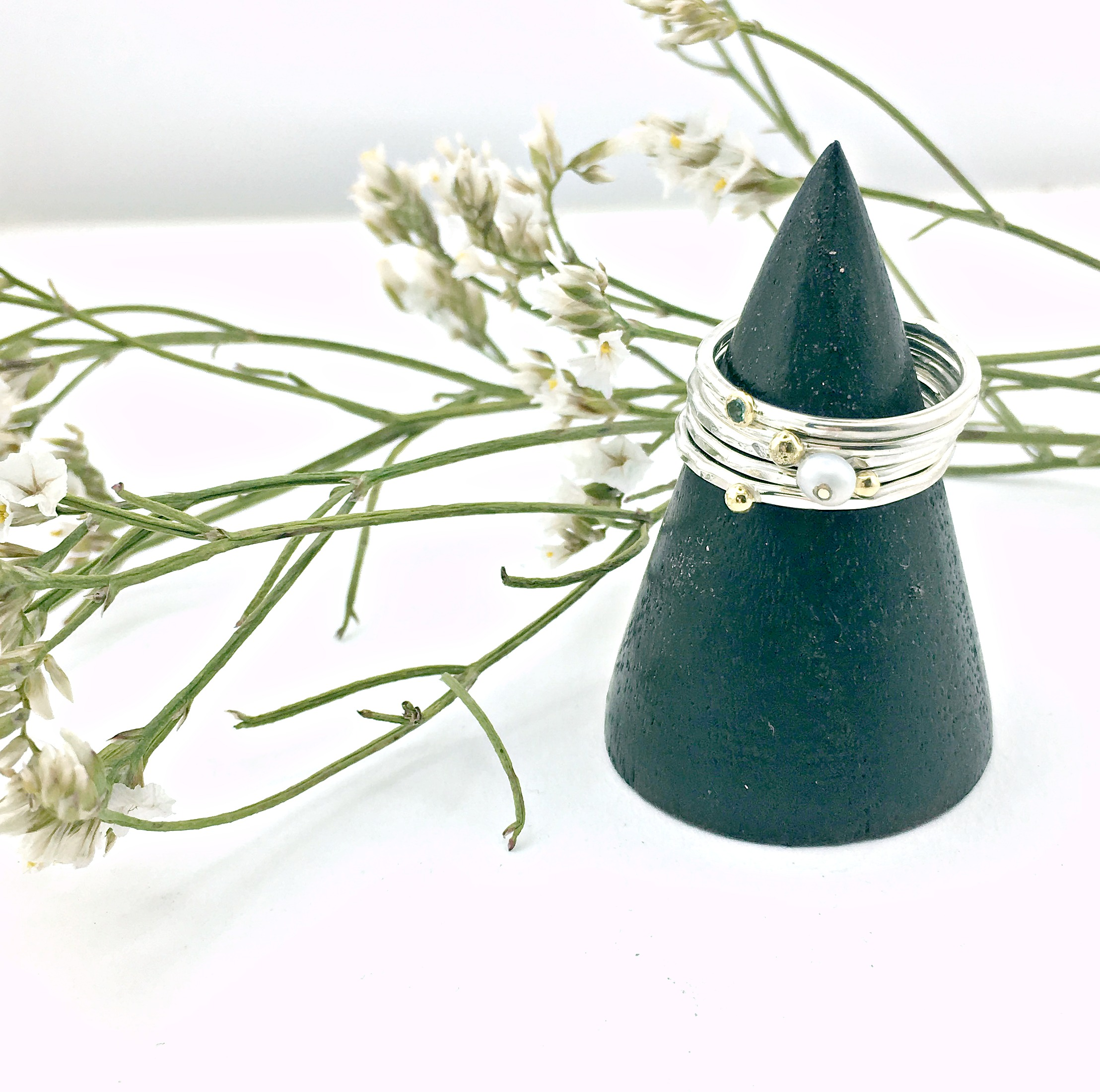 Workshop Wednesday: Personalised Handmade Stacking Rings