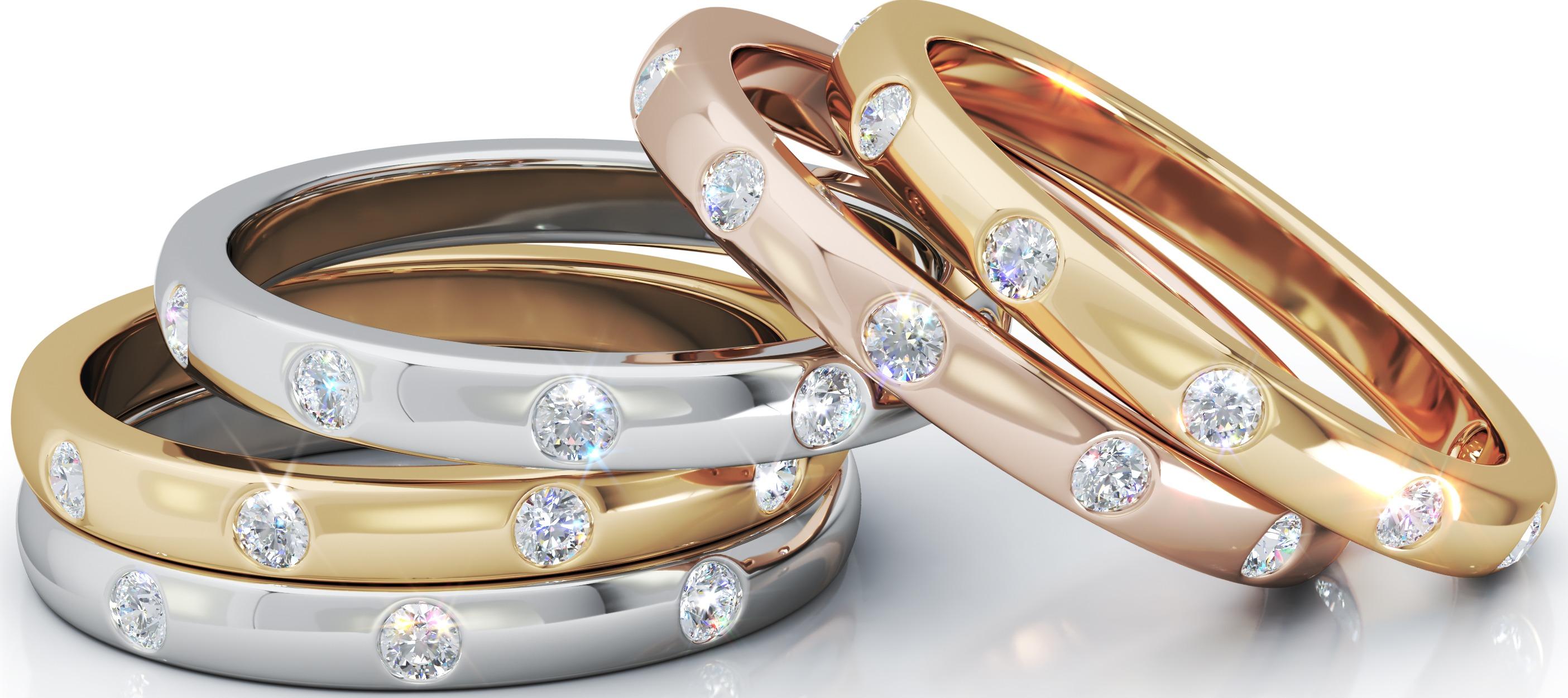 The Milestone Diamond Ring